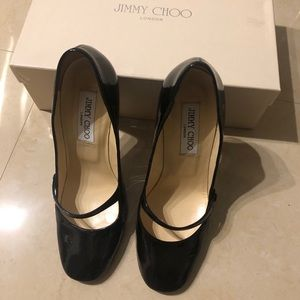 Jimmy Choo Taffy Patent Leather Pump